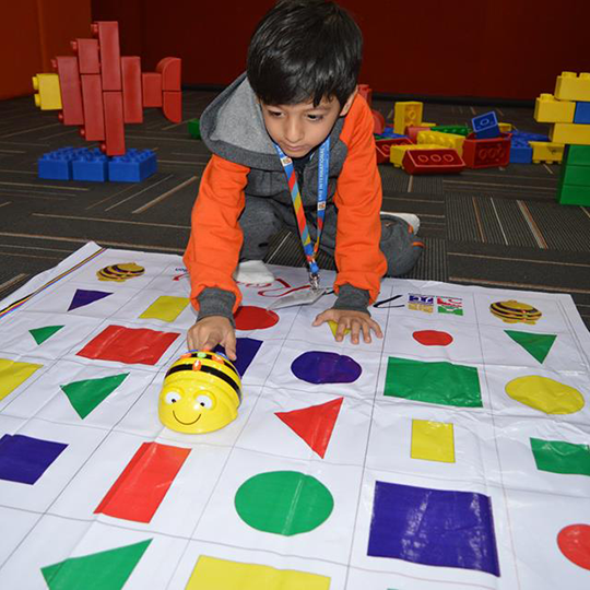 Nursery- Fun while learning with Bee-Bot
