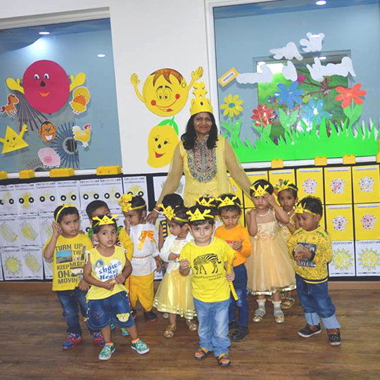 YELLOW DAY celebrations