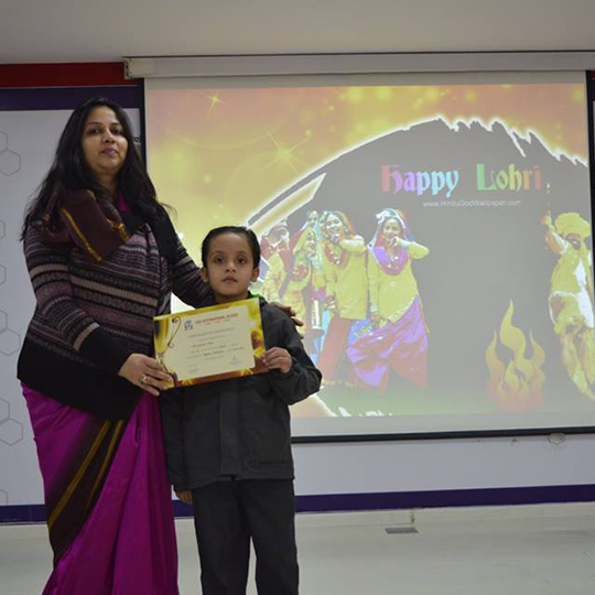 Special Assembly- Lohri celebration