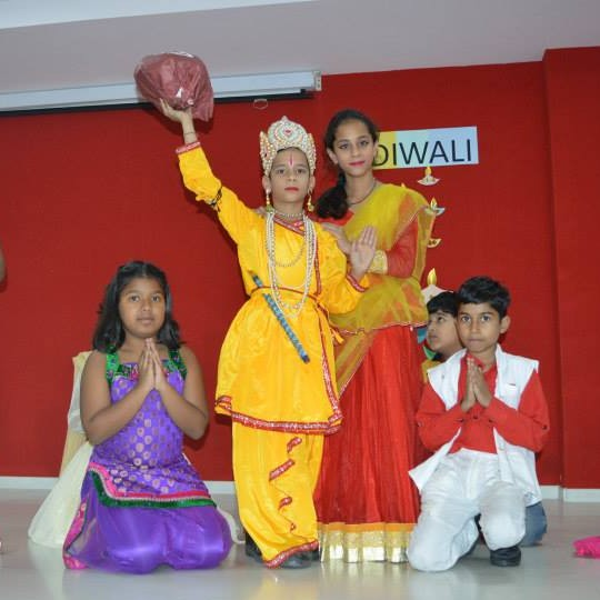 Diwali festivities @SRS International School