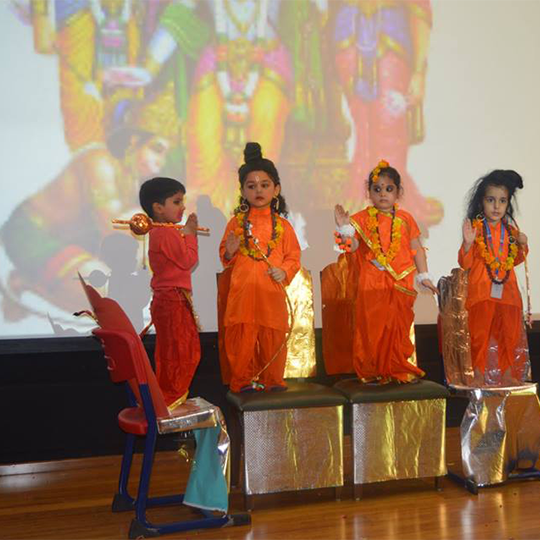 Ramayana - An epic re-enacted by SRSians