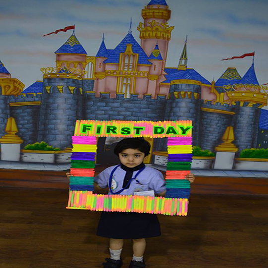 First Day of the School (Session 2017-18) -Little SRSians